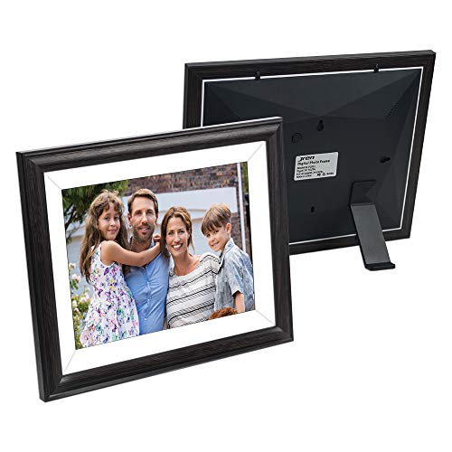 Upgraded Digital Share Picture Frame, 9.7 Inch 16GB Digital Picture Frame WiFi and 2K Photo Frame with IPS Touch Widescreen, Free Frameo App Easy to Share Photos and Videos, Auto-Rotate Wall Mountable