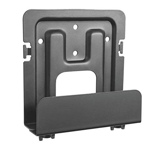 Mount Plus MP-APM-06-02 Streaming Media Player Wall Mounting Bracket for Wide Range of Media Players, Cable and Satellite Boxes, Game Console Such As Apple TV, PS4, Xbox One (Wide)