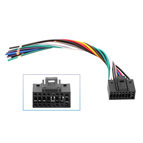 RDBS 16 Pin Fit for Kenwood Radio Stereo Wiring Harness car Replacement...