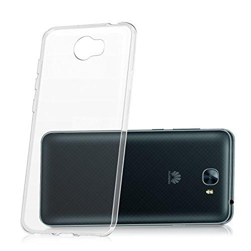 kwmobile Huawei Y6 II Compact (2016) Hülle - Handyhülle für Huawei Y6 II Compact (2016) - Handy Case in Transparent - 5