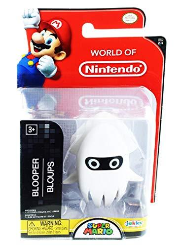Nintendo World of Super Mario Blooper 2.5-Inch Mini Figure