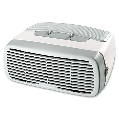 Holmes Desktop HEPA-Type Filter & Optional Ionizer, Air Purifier, Cream