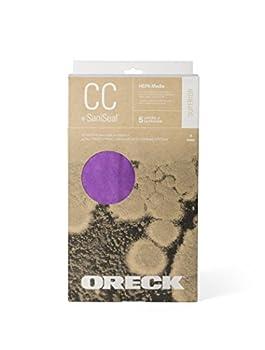 Oreck Type CC HEPA Upright Vacuum Cleaner Bag AK1CC6H 6-Pack 6 Pack Purple 6 Count