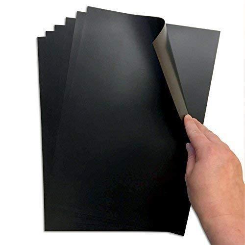 The Magneet Shop A4 magneetplaten als eenvoudige bewaaroplossing & om te knutselen - 0,5 mm dik, set van 6