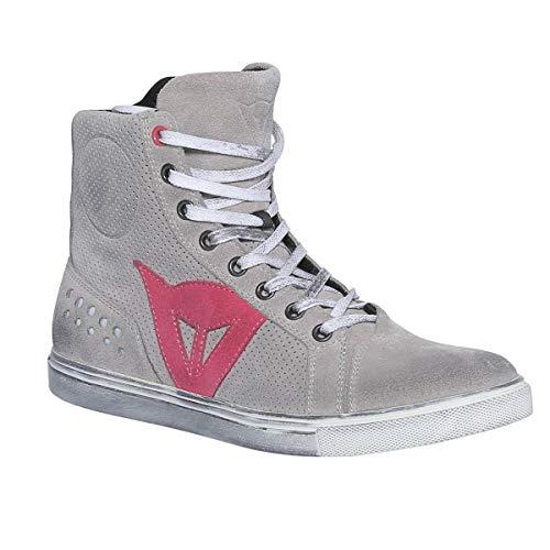 Dainese Metropolis Lady Shoes, Zapatos Moto Mujer, Antracita/Fucsia, 36 EU
