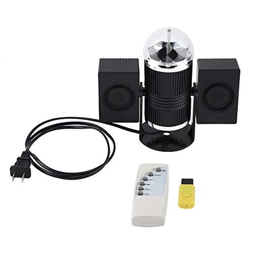 Eastbuy LED-Lichter-360 ° Rota-Tisch Magische LED-Licht RGB Remote Lampe für Stage Disco Chinese Plug 80-240V