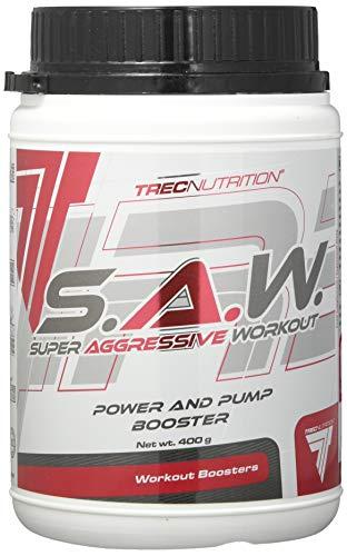 Trec Nutrition S.A.W, Pre-Workout Formel - Geschmack: Kirsche-Grapefruit, 1er Pack (1 x 400 g)