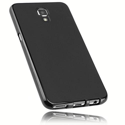 mumbi Hülle kompatibel mit LG X Screen Handy Case Handyhülle, schwarz
