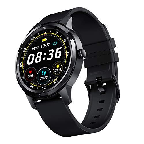 Smartwatch Fitness Armband, blutdruck uhr mit Pulsuhren IP67 Wasserdicht Sport Uhr Aktivitätstracker Fitness Uhr Schlafmonitor schrittzähler Smartwatch Damen Herren Smart Armband, Uhr für iOS Android