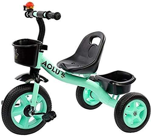 Triciclo para niños pequeños pequeños y pequeños, triciclos para niños y niñas, 3, 4, 5, para montar a caballo, pedales de triciclo de 3 ruedas