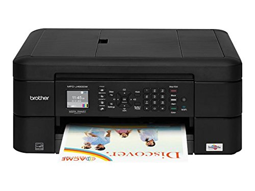 Brother MFC-J460DW, All-in-One Color Inkjet Printer, Compact & Easy to Connect, Wireless, Automatic Duplex Printing, Amazon Dash Replenishment Ready