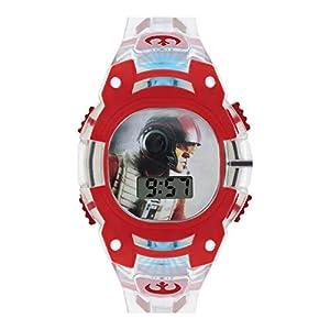 Star Wars Infantil Reloj Digital con Pantalla Digital de Esfera ...