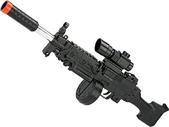 Evike - Pump Action Spring Powered Mini Airsoft M249 Rifle
