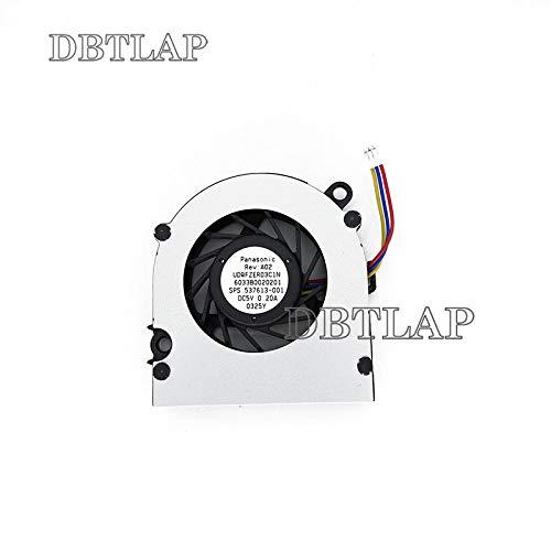 DBTLAP Ventilador de la CPU del Ordenador portátil para HP Mini 110-1000 110-1100 Series Portátil 537613-001 CPU Ventilador UDQFZER03C1N