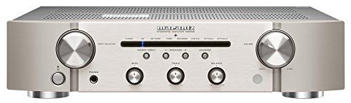 Marantz PM6006 2.0 Hogar Alámbrico Oro, Plata - Amplificador de Audio (2.0 Canales, 60 W, 0,08%, 102 dB, 60 W, 45 W)