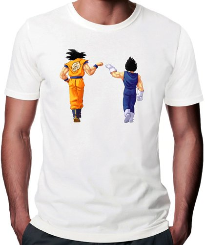 Dragon Ball Z Goku Vegeta T-Shirt - Medium