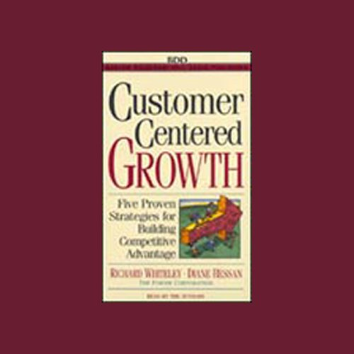Customer-Centered Growth audiobook cover art