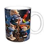 The Puffi divertente tazza da caffè in ceramica da 311,8 ml, divertente regalo di compleanno per amici, colleghi, fratelli, papà o mamma