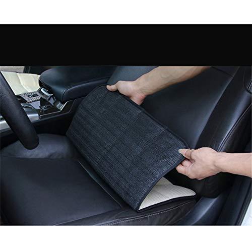 Tree-on-Life Atmungsaktives Auto Sitzkissen Pad für Auto Fahrersitze Bürostuhl Heimgebrauch Memory Foam Sitzkissen