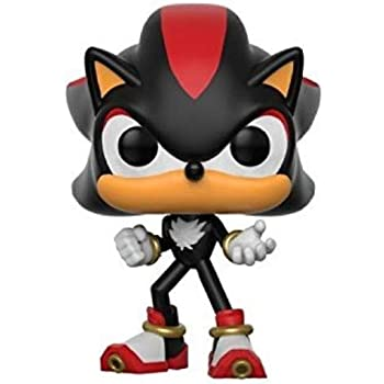 Amazon Com Funko Pop Games Sonic The Hedgehog Shadow 285 Vinyl Figure Includes Compatible Pop Box Protector Case Toys Games