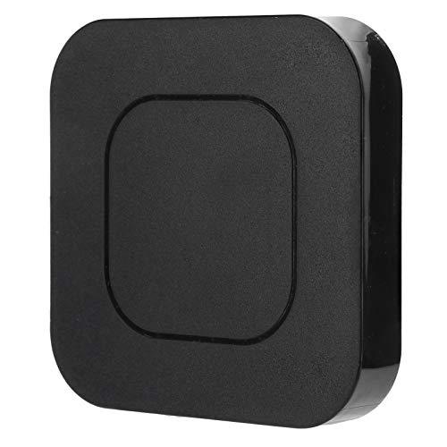 Socobeta Adaptador de audio Bluetooth Transmisor de audio Modo receptor 10 horas de tiempo de trabajo, para sistemas estéreo en el hogar, para reproductores MP3, reproductores de CD