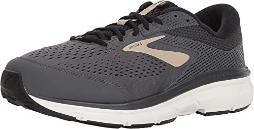 Brooks Dyad 10 Grey/Black/Tan 11.5 4E - Extra Wide