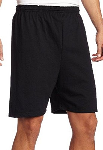 Soffe 6 Inch Jersey Shorts, Black, X-Large