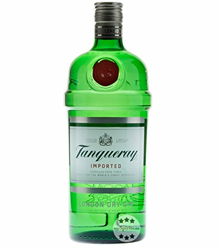 Gin: 6 x Tanqueray London Dry Gin / 47,3% Vol. / 1,0 Liter
