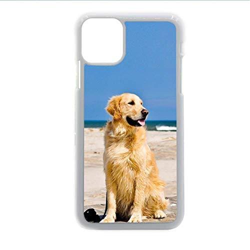 para Chico Durabilidad Impresión Golden Retriever 1 Caja De Teléfono De Plástico Compatible para Samsung Galaxy S21 Ultra