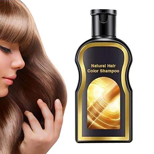 Graues umgekehrtes Haarfarben-Shampoo Natürliche Verdunkelung Schwarzes Haar Ingwer Färbung (200ML)
