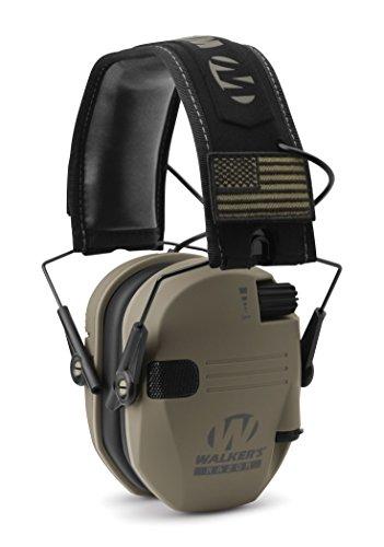 Walker's GWP-RSEMPAT-FDE Electronic Muffs