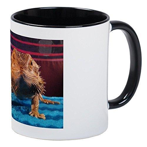 Novedad Taza Taza de cerámica taza de único dragón Barbudo para amigos Regalos de cumpleaños regalos de Navidad
