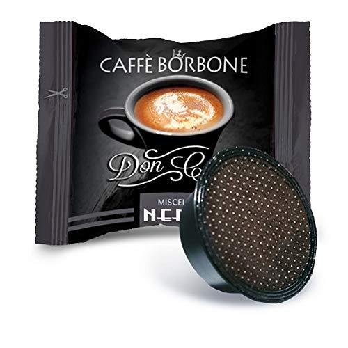 Caffè Borbone Don Carlo Miscela Nera - Confezione da 100 Capsule - Compatibili con macchine a marchio Lavazza*A Modo Mio*