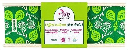 Lamazuna Coffret Cadeau Zéro Déchet Brosse à Dents