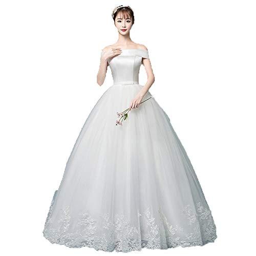 Vestido de novia Vestido de novia nupcial del vestido de bola del...