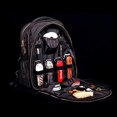 Naadaemf Kappersrugzak, voor buiten, reizen, multifunctioneel, make-up gereedschap, kappersschaar, cosmetica, opbergtas