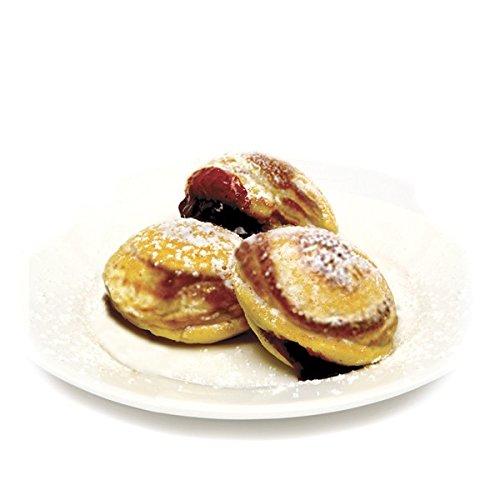 Ebelskiver Pan,Danish Aebleskiver Stuffed Pancake Pan,Aebleskivers, Black