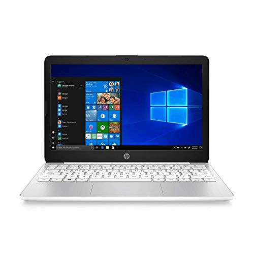 HP Stream Laptop PC 11.6' Intel N4000 Quad Core 4GB DDR4 SDRAM 32GB eMMC (Renewed)