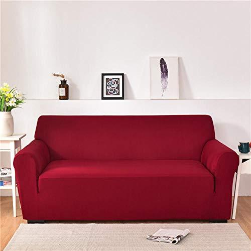 Allenger Corner Sofa,Für Wohnzimmer Schnitt L-Form Ecke Couchbezug Stuhl Protector-Burgund_145-185cm