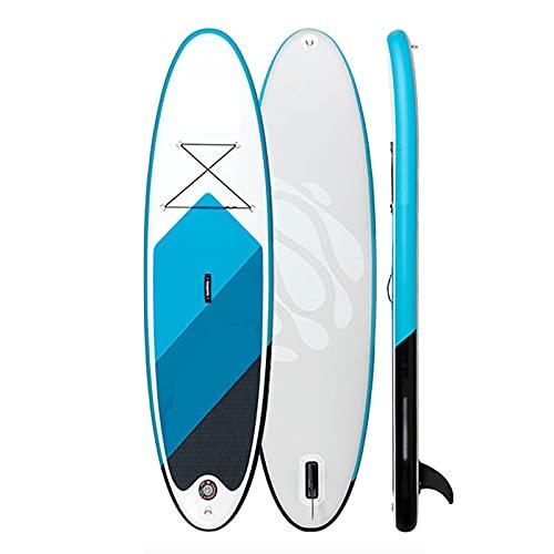 XZZ para Adultos Inflable Stand Up Paddle Board Tabla De Paddle Surf Control De Surf Cubierta Antideslizante Tabla De Paddle De Principiante a Tabla De Surf Profesional Kayak De Deportes Acuáticos