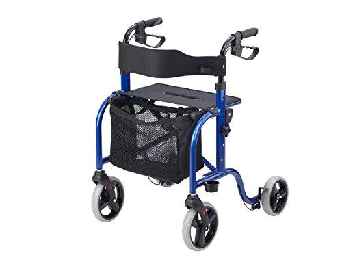 Bischoff & Bischoff Rollator RL-smart blau-metallic