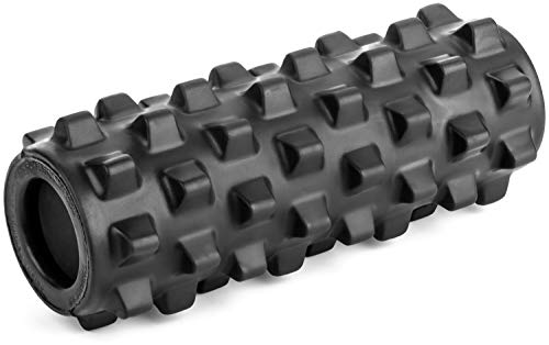 RumbleRoller, Textured Muscle Foam Roller Manipulates Soft Tissue Like A Massage Therapist