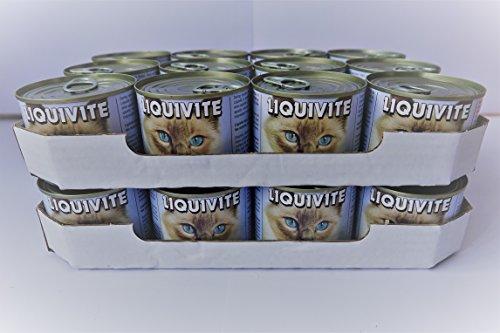 Liquivite Suppe für Katzen 24x 200g handliche Größe Dosen