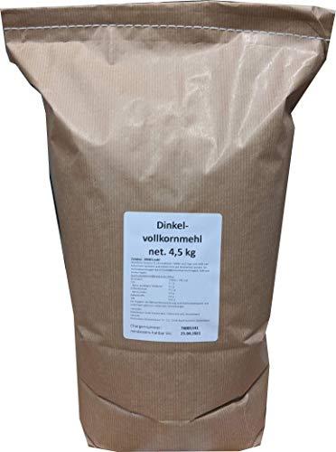 4,5 kg Dinkelvollkornmehl 4,89€/kg
