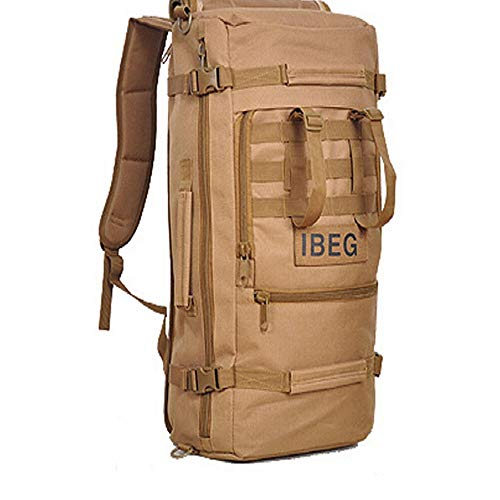 Best 45L Outdoor Military Tactical Backpack Hiking Camping Pack Travel Shoulder Bag #BHTY