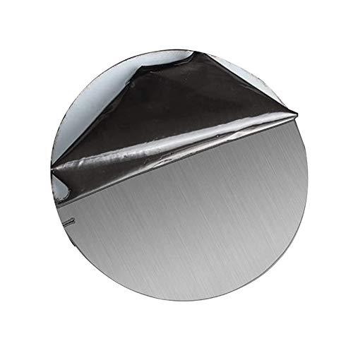 SZQL 304 Material Oberfläche Rundstahlblech, gebürstete Oberfläche runde Edelstahl-Platte,2x150mm
