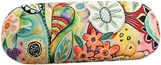Enesco Allen Deco Funda De Gafas En Tejido De Microfibra, Diseño Floral, Resina, Multicolor, 6 x 6 x 16 cm