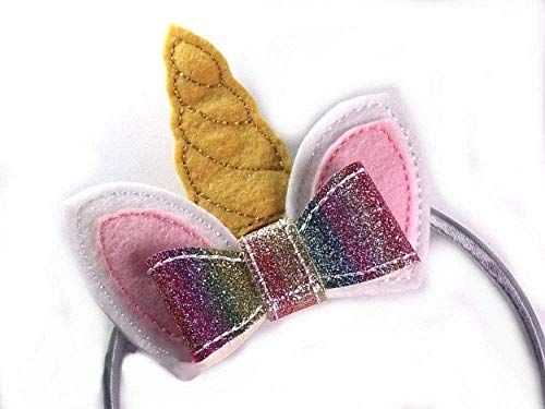 Unicornio Diadema pelos para niña decoración en forma de unicornio y aro para pelo pinzas prendedor regalo moda infantil