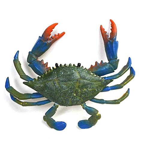 RAYNAG Artificial Plastic Crab,Simulated Sea Animal Home Party Decor Creative Gift