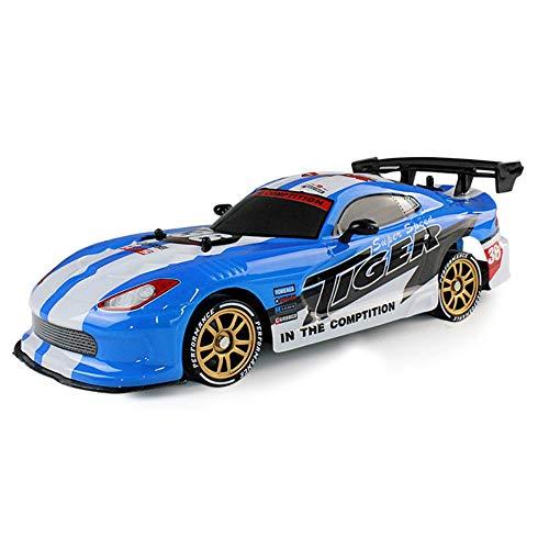 SSBH Fernbedienung Auto Drift Hochgeschwindigkeits-RC Autolade Dynamische Racing Profi Racing Modell Spielzeug der Kinder Elektro-Antrieb-Rennen Sport-Auto for Kind Erwachsene Kleinkinder Jungen Mädch